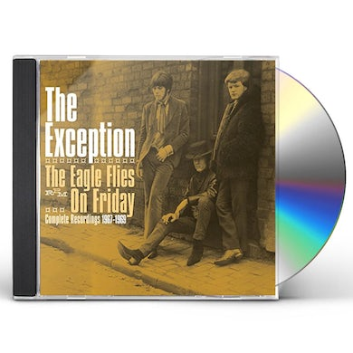 Exception EAGLE FLIES ON FRIDAY: COMPLETE RECORDINGS 1967-69 CD