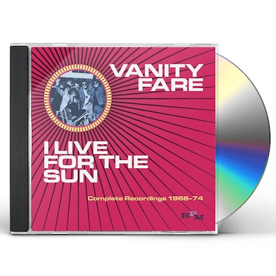 Vanity Fare I LIVE FOR THE SUN: COMPLETE RECORDINGS 1968-74 CD