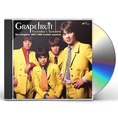 Grapefruit YESTERDAY'S SUNSHINE: COMPLETE 1967-1968 LONDON CD