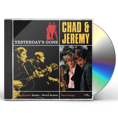 Chad & Jeremy YESTERDAY'S GONE: COMPLETE EMBER & WORLD ARTISTS CD