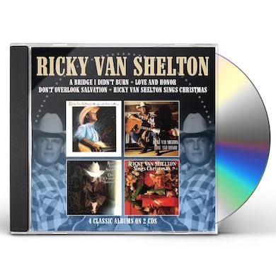 Ricky Van Shelton BRIDGE I DIDN'T BURN / LOVE & HONOR / DON'T CD