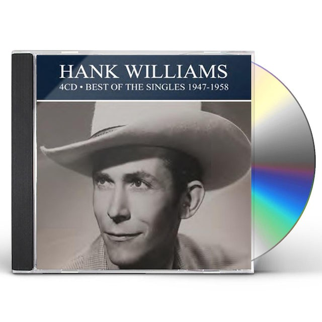 Hank Williams BEST OF THE SINGLES 1947-1958 CD