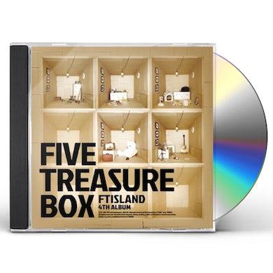 FTISLAND FIVE TREASURE BOX (LIMITED EDITION) CD