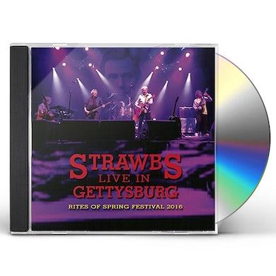 Strawbs LIVE IN GETTYSBURG CD