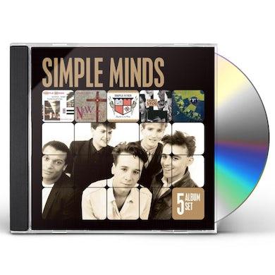 Simple Minds 5 ALBUM SET CD