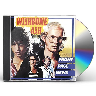 Wishbone Ash FRONT PAGE NEWS CD