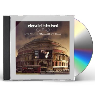 David Bisbal LIVE AT THE ROYAL ALBERT HALL CD