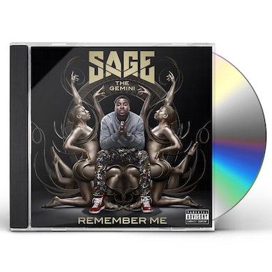Sage The Gemini REMEMBER ME CD