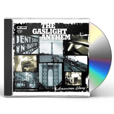 The Gaslight Anthem AMERICAN SLANG TEE BUNDLE CD