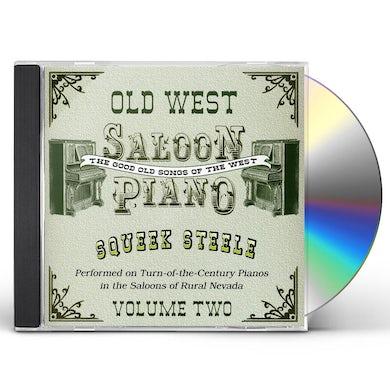 Squeek Steele OLD WEST SALOON PIANO 2 CD