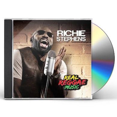 Richie Stephens REAL REGGAE MUSIC CD