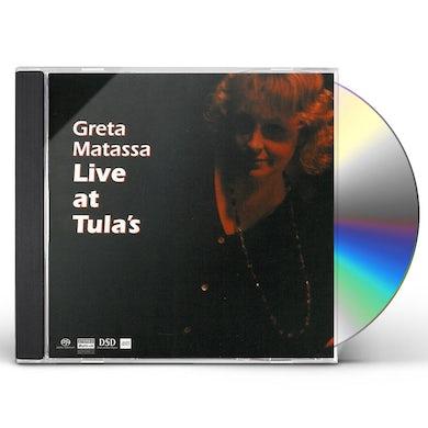 Greta Matassa LIVE AT TULA'S Super Audio CD