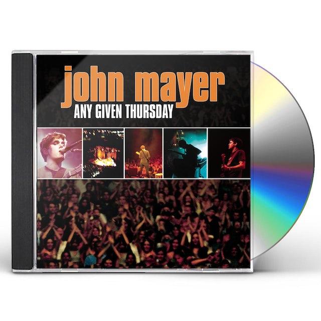 John Mayer ANY GIVEN THURSDAY CD