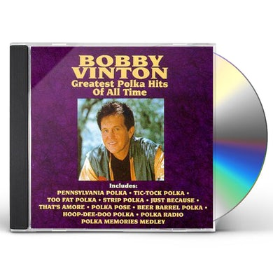 Bobby Vinton GREATEST POLKA HITS OF ALL TIME CD