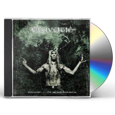 Eluveitie EVOCATION I - ARCANE DOMINION CD - Limited Edition