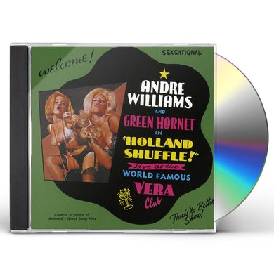 Andre Williams HOLLAND SHUFFLE CD