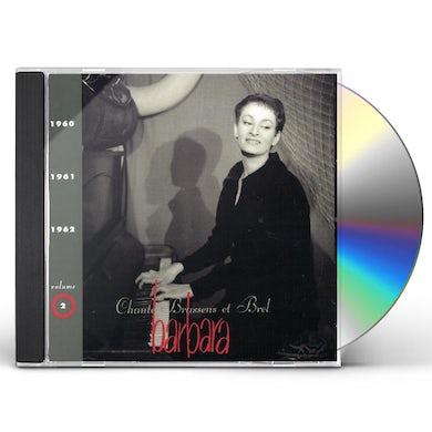 BARBARA CHANTE BRASSENS ET BREL CD