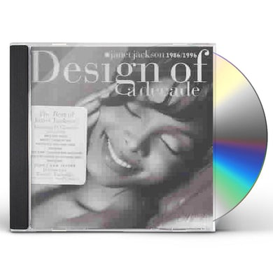 Janet Jackson DESIGN OF A DECADE 1986-1996: GREATEST HITS CD