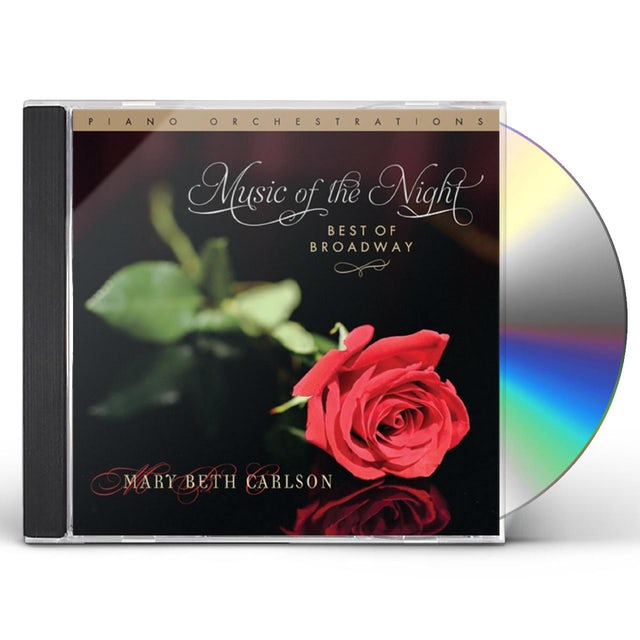 Mary Beth Carlson MUSIC OF THE NIGHT... BEST OF BROADWAY CD