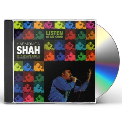 Harmonica Shah LISTEN AT ME GOOD CD