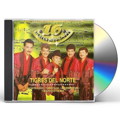 Los Tigres Del Norte   16 KILATES MUSICALES CD