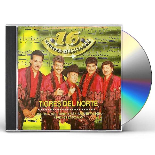 TIGRES DEL NORTE 16 KILATES MUSICALES CD
