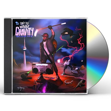 K-Os CAN'T FLY WITHOUT GRAVITY CD