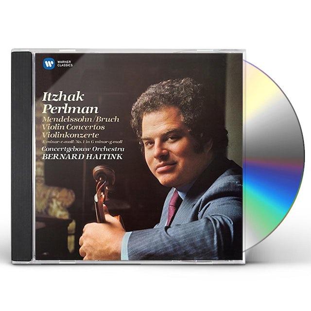 Itzhak Perlman MENDELSSOHN: VIOLIN CONCERTO NO 2 - BRUCH: VIOLIN CD