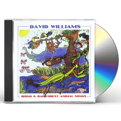 David Williams RHINO & RAINFOREST ANIMALS CD