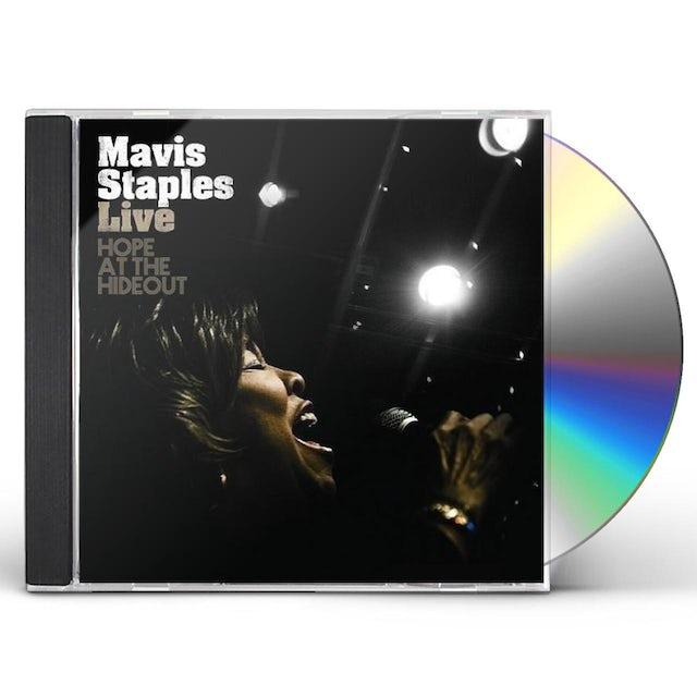 Mavis Staples LIVE HOPE AT THE HIDEOUT CD