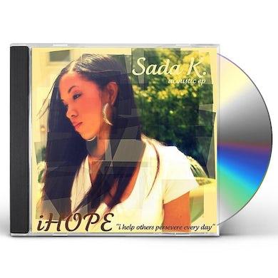 Sada K. ACOUSTIC EP-IHOPE CD