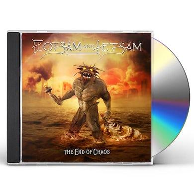 Flotsam & Jetsam THE END OF CHAOS CD