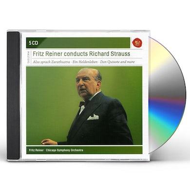 Fritz Reiner REINER CONDUCTS RICHARD STRAUSS CD