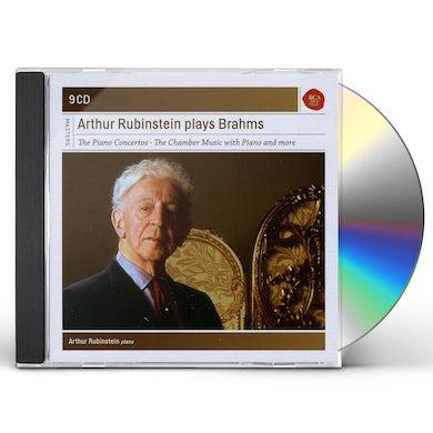 Arthur Rubinstein RUBINSTEIN PLAYS BRAHMS CD