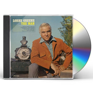 Lorne Greene THE MAN CD