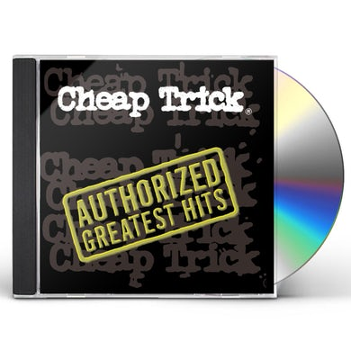 Cheap Trick AUTHORIZED GREATEST HITS CD