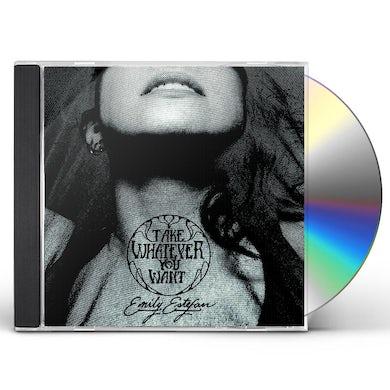 Emily Estefan TAKE WHATEVER YOU WANT CD