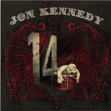 Jon Kennedy 14 (2LP/180G/WHITE VINYL) Vinyl Record