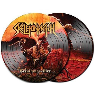 Skeletonwitch BREATHING THE FIRE Vinyl Record