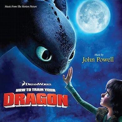 John Powell HOW TO TRAIN YOUR DRAGON / Original Soundtrack Vinyl Record