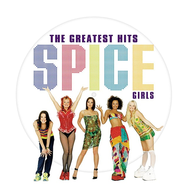 Spice Girls GREATEST HITS Vinyl Record