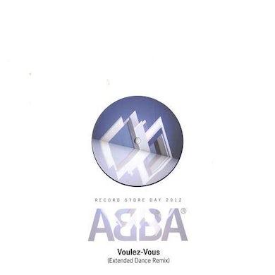 Abba VOULEZ-VOUS: EXTENDED DANCE MIX Vinyl Record
