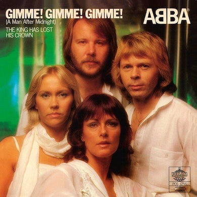 Abba GIMME GIMME GIMME (A MAN AFTER MIDNIGHT) Vinyl Record