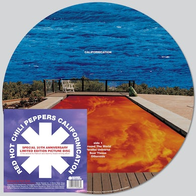 Red Hot Chili Peppers CALIFORNICATION - 20th Anniversary Double Picture Disc LP Vinyl Record