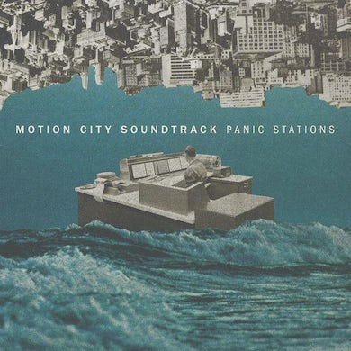 Motion City Soundtrack PANIC STATIONS (RED/WHITE) Vinyl Record