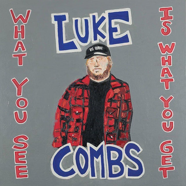 Luke Combs WHAT YOU SEE IS WHAT YOU GET Vinyl Record
