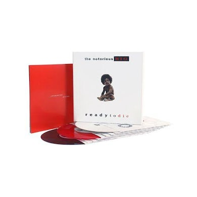 The Notorious B.I.G. READY TO DIE: 25TH ANNIVERSARY EDITION Vinyl Record