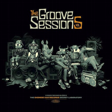 Chinese Man GROOVE SESSIONS Vol.5 Vinyl Record