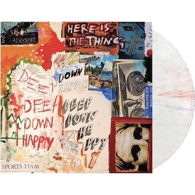 Sports Team DEEP DOWN HAPPY (JAWBREAKER COLORED VINYL) Vinyl Record