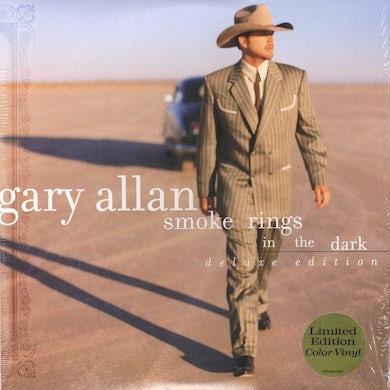 Gary Allan Smoke Rings In The Dark (Deluxe LP)(Neon Green Vinyl) Vinyl Record